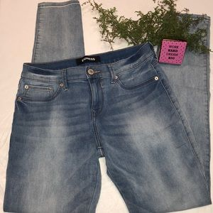 Express Mid-Rise Jeans/Leggings Size 8L